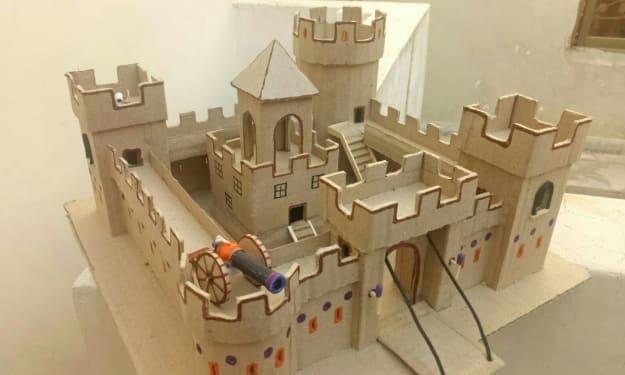 DIY: Make A Cardboard Castle