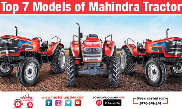 Top 7 Mahindra Tractor Models in India