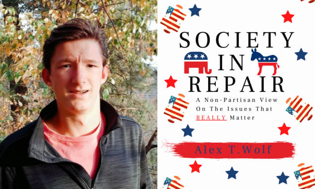 """Q & A With Alex T. Wolf On """"Society In Repair"""""""
