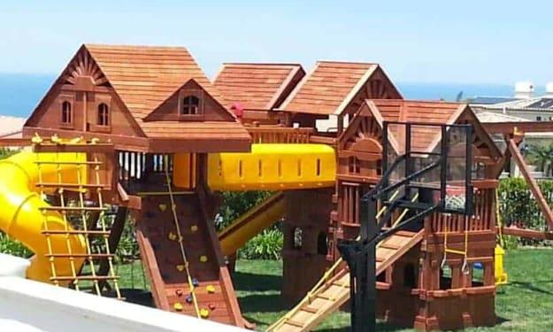 Outdoor Play Benefits for children
