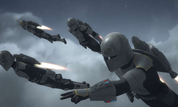 The Real Reason Only Some Mandalorians Have Jetpacks