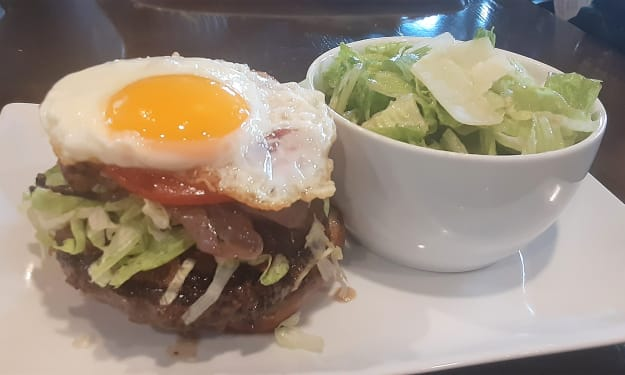 Have you ever had a mouthwatering burger? Not till you've been here.