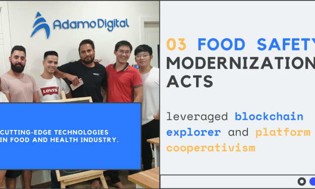 Food safety modernization acts with blockchain and cooperativism