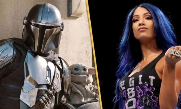 Sasha Banks Teases 'The Mandalorian' Season 2 Spoilers... Kinda