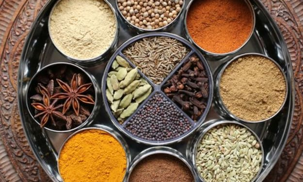 """Anjarai Petti"" - The Medicinal Spice Box of India"