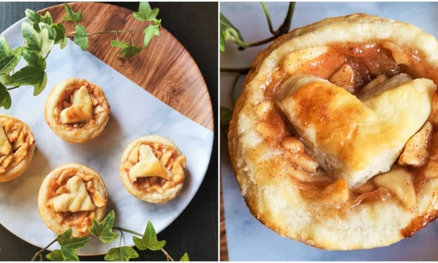 Simple Two-Bite Apple Pies