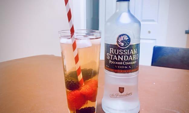 Mixed Berry Vodka Lemonade