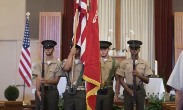 Marine Corps Stories: That's Why I Say