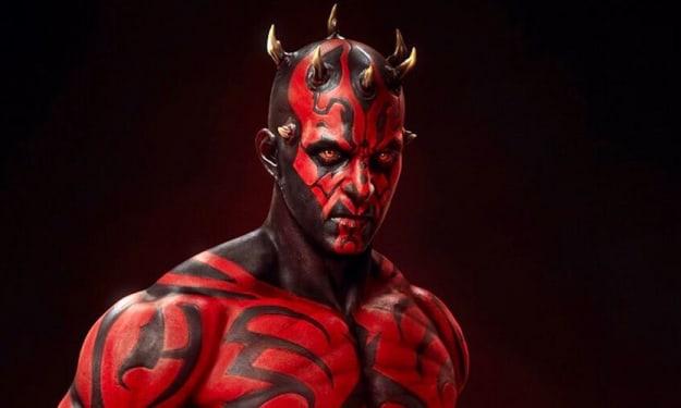 Darth Maul Wields The Darksaber In This Unbelievable Fan Art