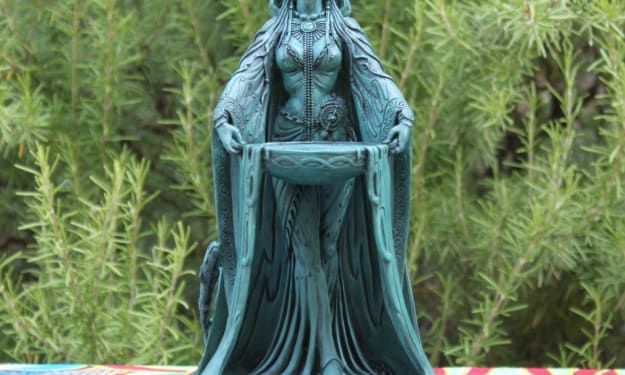 Danu- The Woman, The Myths, The Legends