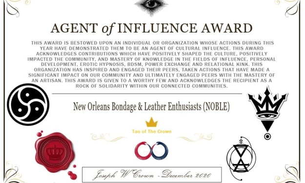 NOLA Kink Community Update & The 2020 Agent of Influence Awards