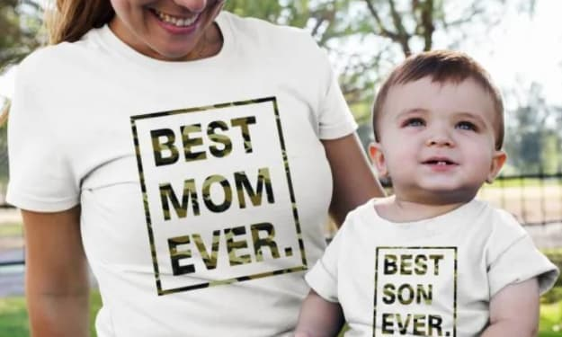 Mom and son t-shirts - best choices online