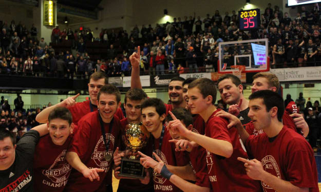 Bobcats win 46-45 Thriller to Take Section One Title