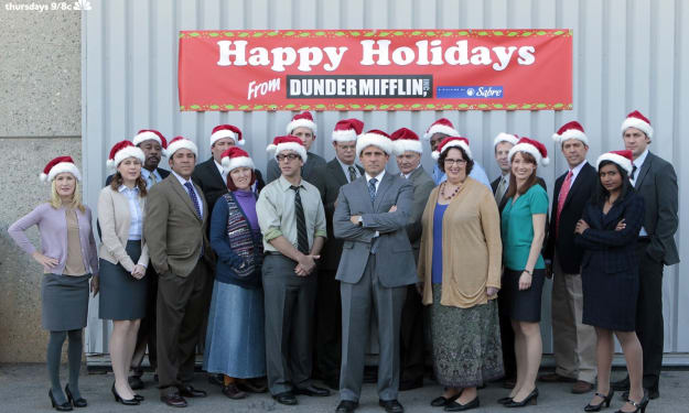 A Playlist of Christmas Songs Inspired By The Office Characters