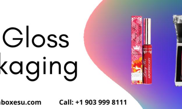 Lip gloss boxes wholesale