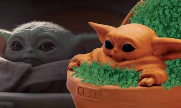 If You Haven't Picked Up This Adorable Baby Yoda Chia Pet What Are You Even Doing?