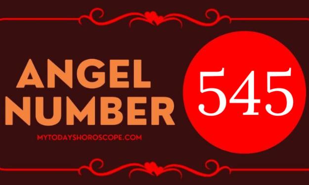 Angel Number 545