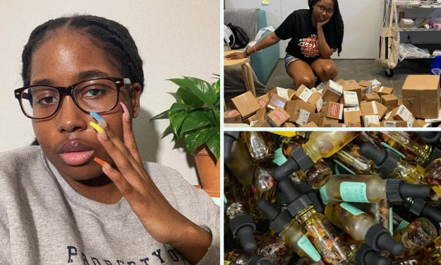 Meet 20 Yr Old Girl Who Made N400 Million in 8 Minutes.