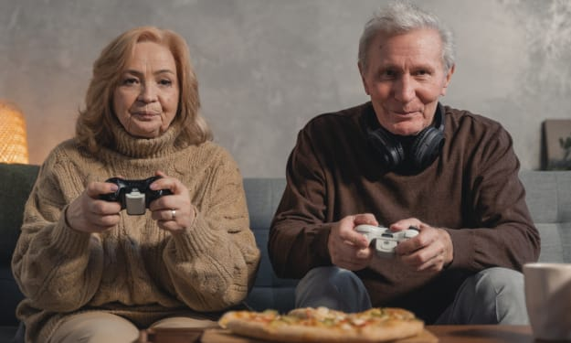 Older gamers. Do we feature in the game developers plan?