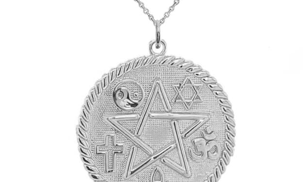 Pentagram Pendants and Necklaces