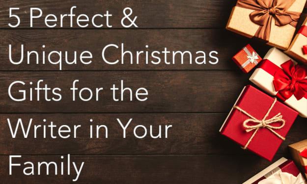 5 Perfect & Unique Christmas Gifts for the Writer in Your Family