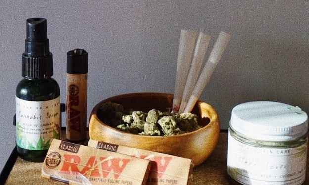 Cannabis + Usage Options