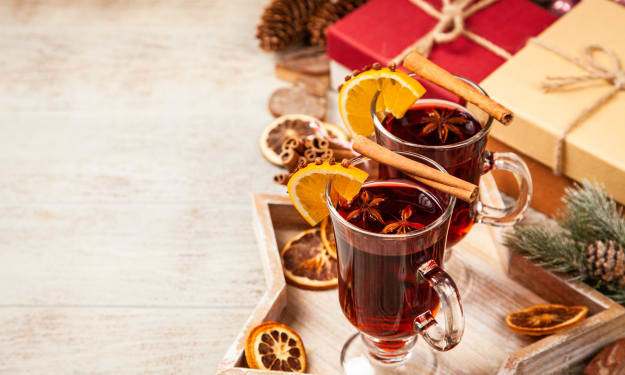 German Mulled Wine and Christmas Holidays