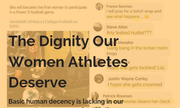 The Dignity Our Female Athletes Deserve