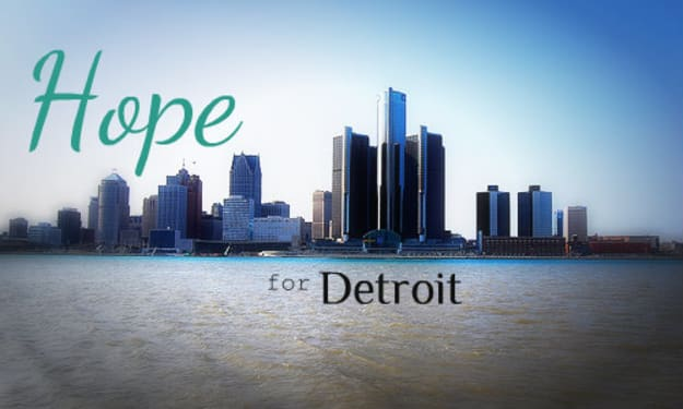 Rebuild The beautiful city of Detroit Expose The Potential In Poverty