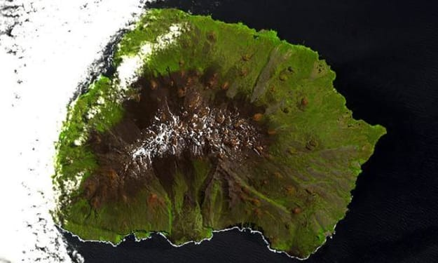 The islands where flies walk and moths crawl, prove Darwin right