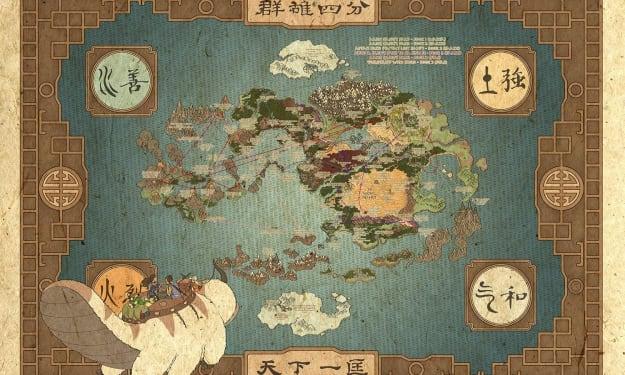 "Aang's long lost ""Team Avatar"""