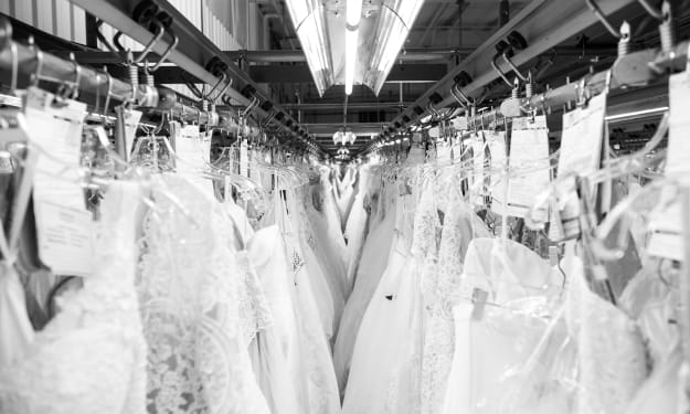 A Helpful Guide on  Dry Cleaning a Wedding Dress