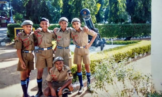 Admission in Rashtriya military schools and my first-day experience in military school.