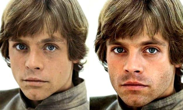 DEBUNKED: No, Sebastian Stan Is Not Playing Young Luke Skywalker (Yet)