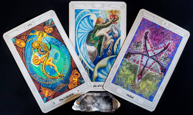 Free Weekly Reading #56         Mirror Dragon Tarot