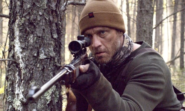 A Family of Trappers Encounter a Vicious Predator in the Unforgettable 'Hunter Hunter'