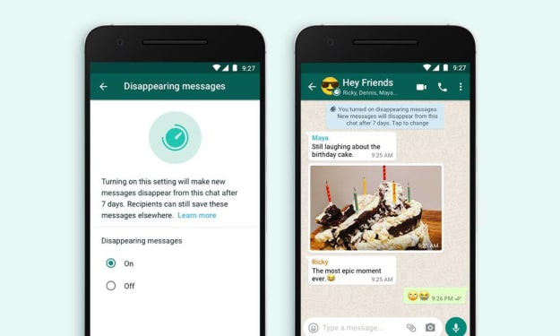 How to get WhatsApp like disappearing feature on Instagram