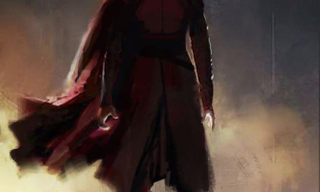 "'Star Wars' Just Revealed Rey's ""Alternate"" Dark Side Design Concept Art"