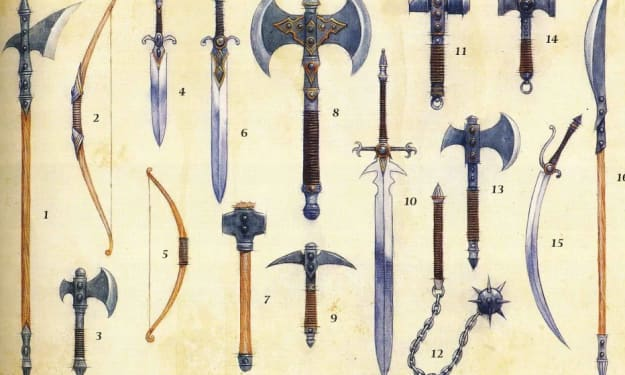 D&D 5th Edition Weapons Guide