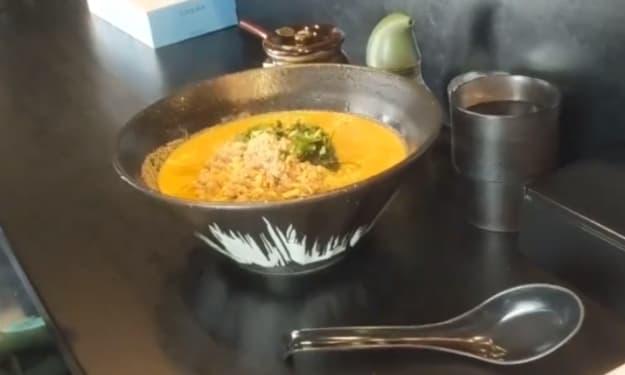 The spiciest ramen noodles in Japan!