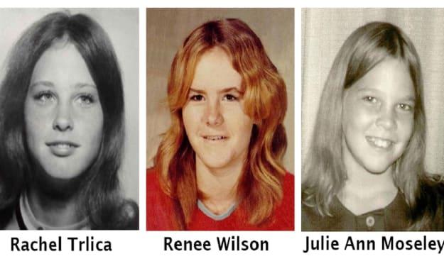 Missing: Rachel Trlica, Lisa Wilson and Julie Moseley