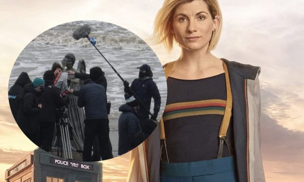 Lone Weeping Angel Spotted Filming for 'Doctor Who' Series 13