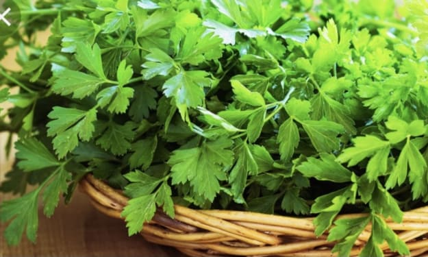 Parsley is a super food you need