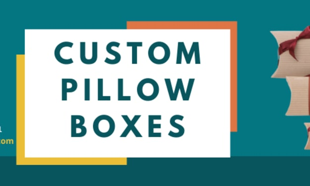 Fully utilized custom pillow boxes at wholesale rate in UK & USA