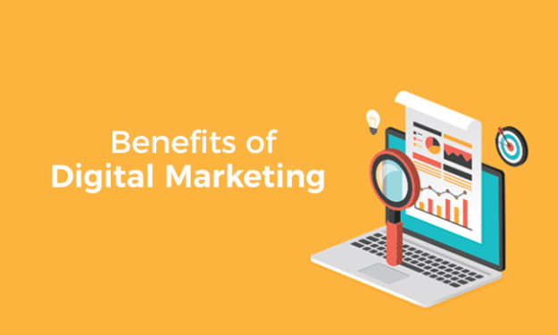 Top 4 Benefits of digital marketing