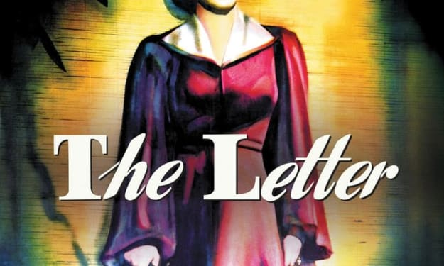 """A Filmmaker's Review: """"The Letter"""" (1940)"""