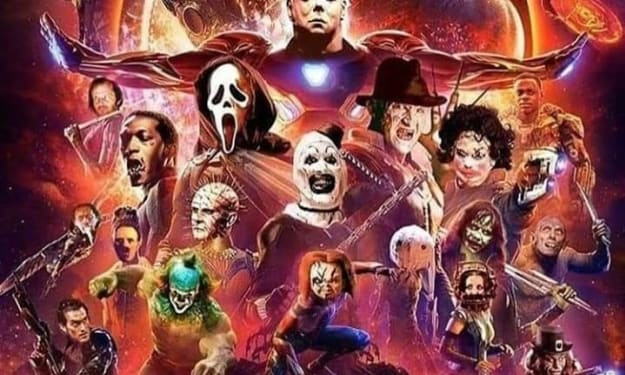 What If... Marvel Characters and Weaponry Were Replaced By  Horror Movie Icons?