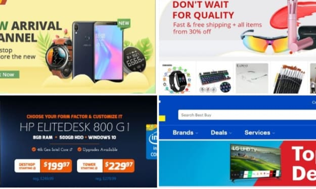 The 10 Best Online Shopping Sites for Cheap tech products