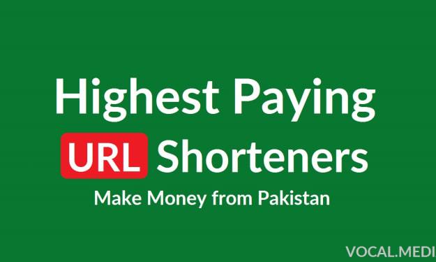Highest Paying URL Shortener Websites in Pakistan