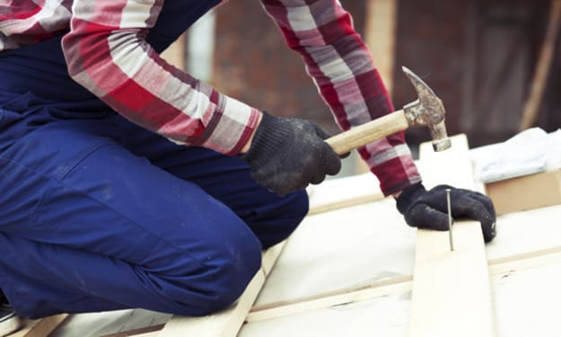 How Do Roofers Clean Up Nails